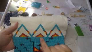 Beading for beginners. What material to bead on.
