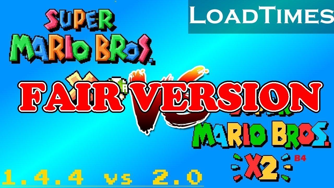 SMBX 1 4 4 VS SMBX2 B4 | LoadTimes | Fair Version