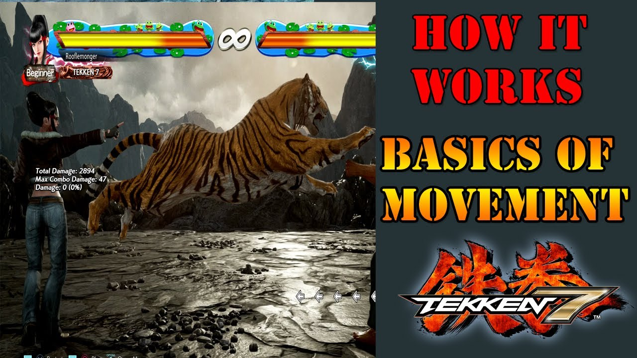 Get the basics of backdashing down with this Tekken 7