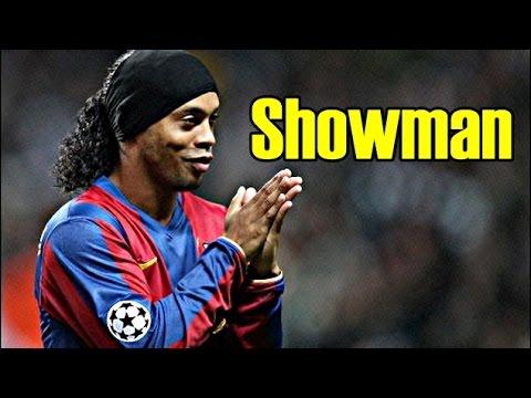Ronaldinho Gaúcho SHOWMAN Barcelona