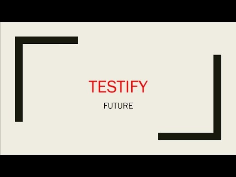 Future - Testify Lyrics