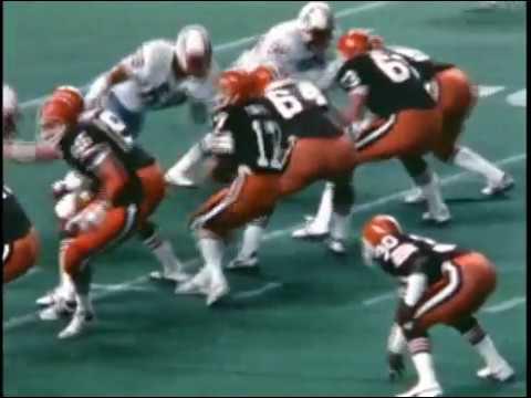 1981 Browns at Oilers Game 14