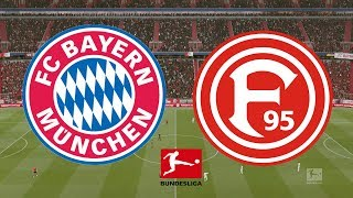 Bundesliga 2018/19 - Bayern Munich Vs Fortuna Dusseldorf - 24/11/18 - FIFA 19