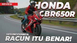 HONDA CBR650R -  SEGALANYA TENTANG SPORTBIKE MIDDLEWEIGHT ALAF BARU!