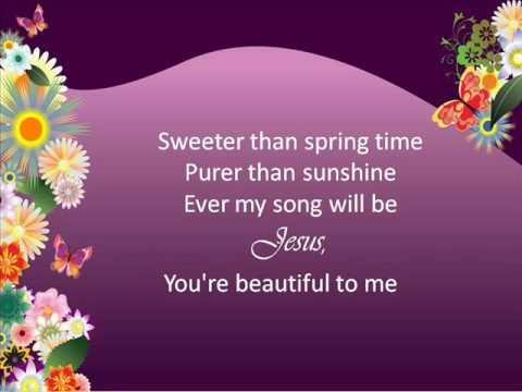 Jesus, You're Beautiful