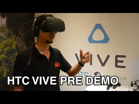 HTC Vive Pre Demo | Digit.in