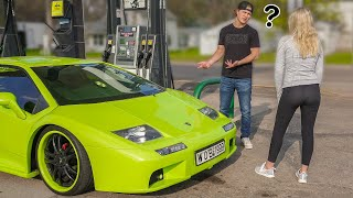 Asking For Gas Money In My Lamborghini
