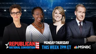 Watch: Republican National Convention Day 3 | MSNBC