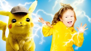 Liza & Pikachu Nursery Rhymes-Are you Sleeping