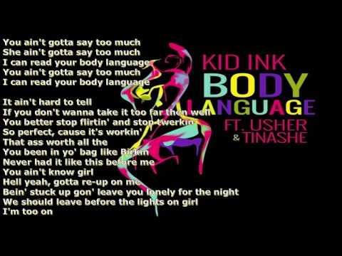 Kid Ink Ft Usher And Tinashe   Body Language LYRICS
