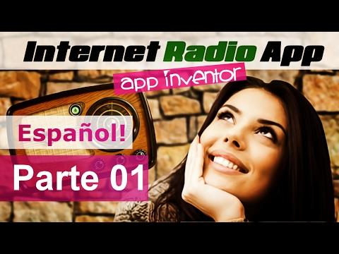 Radio App en MIT app Inventor Tutorial en Español part 01