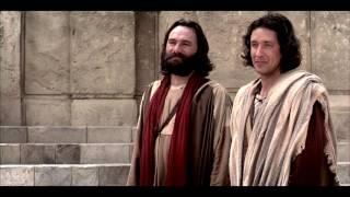 ペテロとヨハネは生まれながら足のきかない男を癒す