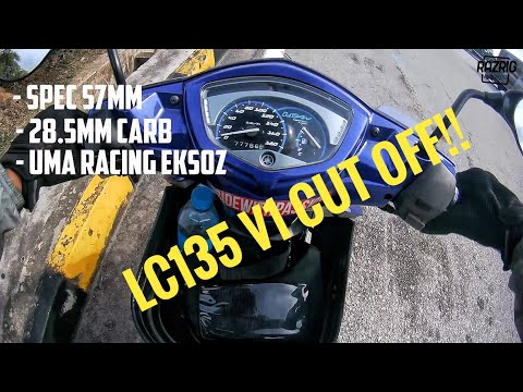 Test Yamaha LC135 V1 cut off | LC135 | Motovlog