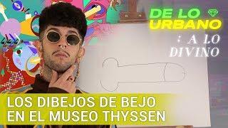 Los dibejos de Bejo en el Museo Thyssen | De lo urbano a lo divino | Playz