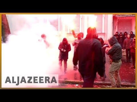 🇺🇦 🇷🇺 Ukraine mulls martial law after Russia seizes ship near Crimea l Al Jazeera English