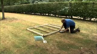 How To Build A Wooden Shed Base By Taylors Garden Buildings