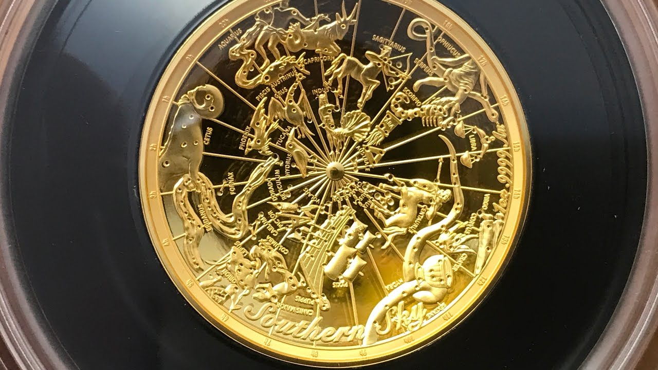 Australia 2017 Southern Sky Celestial Dome 1 Oz Gold