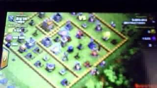 ataque de clash of clans 65.000 de oro y elixir 100.000 elixir oscuro 566