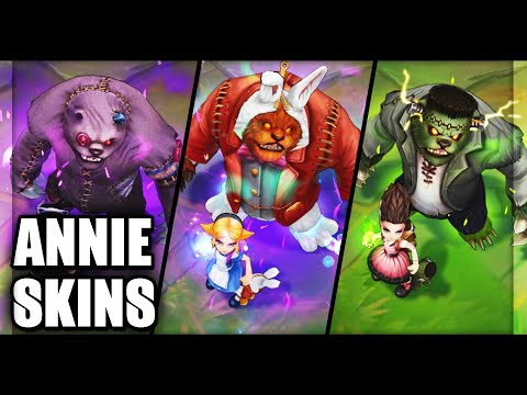 All Annie Skins Spotlight 2020 (League of Legends)