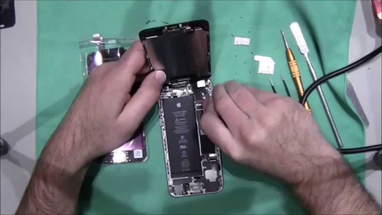 How to repair a broken glass my web value iphone 6 screen repair disassembly fix broken glass customer phone youtube reviewsmspy