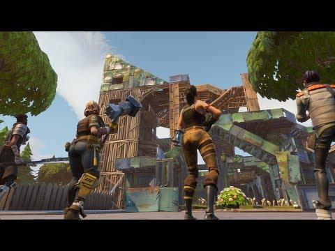 HIKEPLAYS: Fortnite Battle Royale - Let's Build