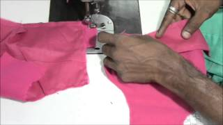 Perfect Blouse Making Tutorial Step by Step - Part 2 (Stitching)