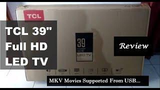 TCL LED Tv 39 Inch Review |  Hindi