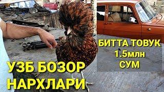 НАРХЛАР УЗБ БОЗОР МЕН ХАЙРАТТАМАН