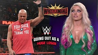 Sad Truth On Why WWE FORCED Kurt Angle To Lose His Final Match At Wrestlemania 35 - WWE Ra ...