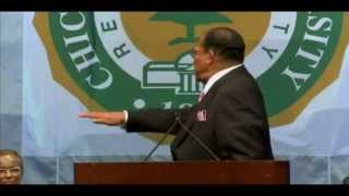 Minister Farrakhan goes off at Reparations Conference!