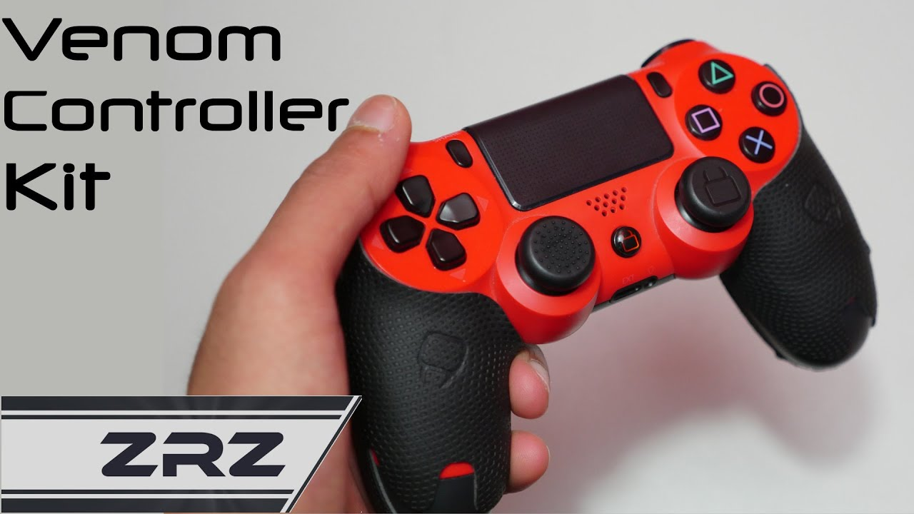 Venom Ps4 Controller Grip Kit Review Youtube