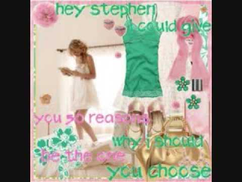 Taylor Swift-Hey Stephen-Lyrics