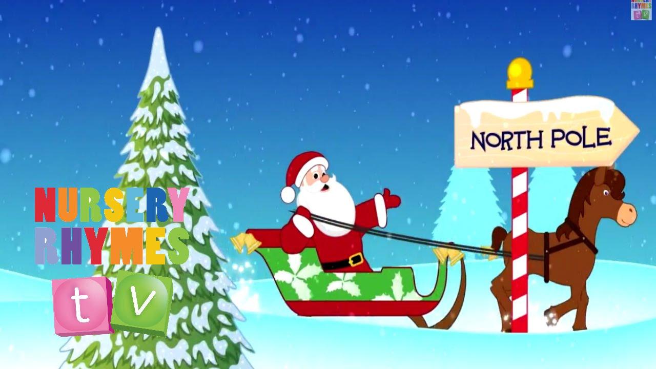 JINGLE BELLS: | Christmas Songs | Nursery Rhymes TV | English Songs For Kids - YouTube
