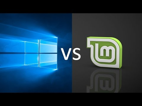 Comparing Windows 10 to Linux Mint 18.1