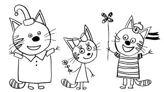 How to Draw a Cat Coloring Pages Kids-e-Cats Coloring Book Art for Kids