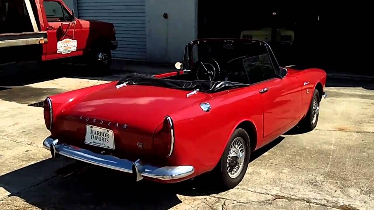 67 Sunbeam Alpine Test Drive