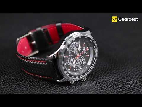 MEGIR 1010G Men's Watch Sports Luminous Style - Gearbest.com