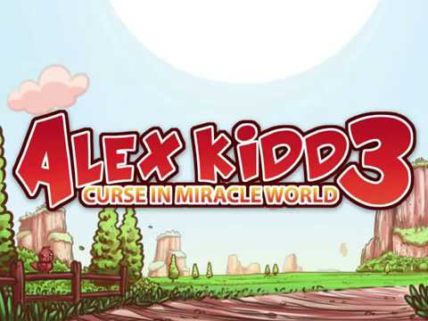 Alex Kidd 3 - Curse In Miracle World - Trailer