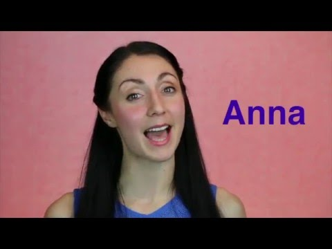Welcome to Anna's British English: Elocution Online