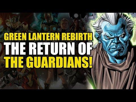 Hal Jordan/Green Lantern Corps Rebirth Vol 5: Twilight of The Guardians!