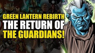 Hal Jordan And The Green Lantern Corps Rebirth Vol 5: Twilight of The Guardians!