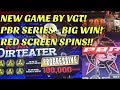 ** NEW VGT GAME ** PBR SERIES, RYAN DIRTEATER ** BIG WIN!!