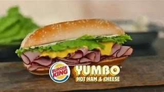 Burger King Yumbo - Ham & Cheese Review