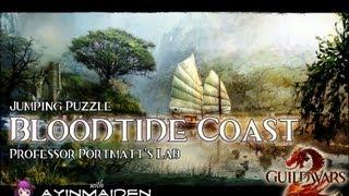 ★ Guild Wars 2 ★ - Jumping Puzzle - Bloodtide Coast (Professor Portmatt's Lab)