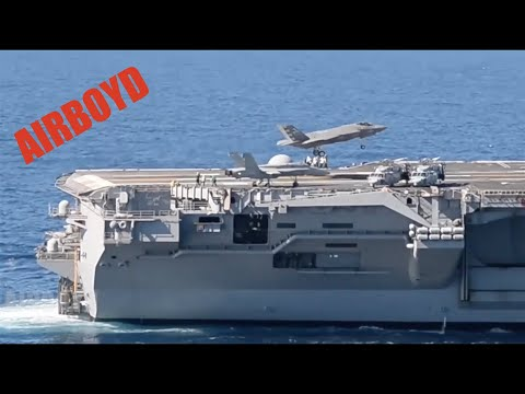 F-35 Sea Trials USS Nimitz (CVN-68)