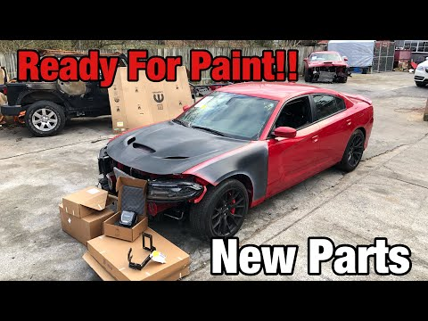 Rebuilding a Wrecked 2016 Dodge Hellcat SRT Part 10