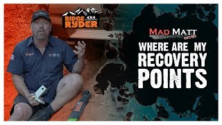 Where are my Recovery Points? // Ridge Ryder with MadMatt