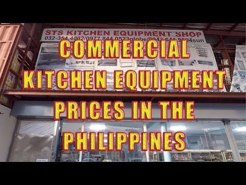 Commercial Kitchen Equipment Prices In The Philippines