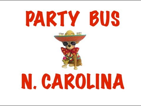 Party Bus Rental in North Carolina - Charlotte, Raleigh, Greensboro, Winston-Salem, Durham