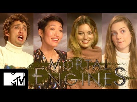 Mortal Engines Cast Go Speed Dating | MTV Movies